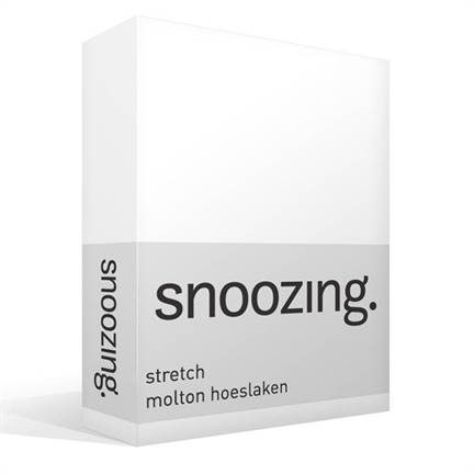 Snoozing stretch molton hoeslaken